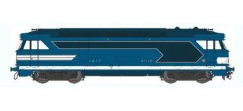 Train électrique : REE MB-021 - Locomotive diesel BB 67300 Ep.III, Analogique