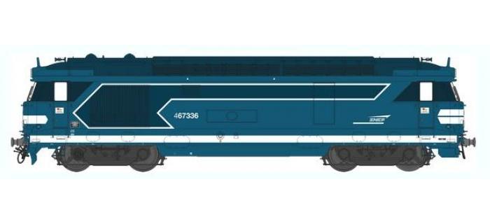 Train électrique : REE OM-007 - Locomotive diesel BB 67336, dépôt de Tours - Echelle O