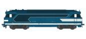 Train électrique : REE OM-001 - Locomotive diesel BB 67009, dépôt de Nevers