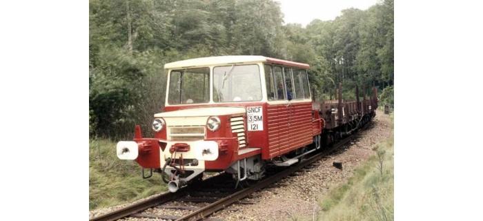 Train électrique : REE MB-033 - DRAISINE DU65 Ep.III-IV, Analogique
