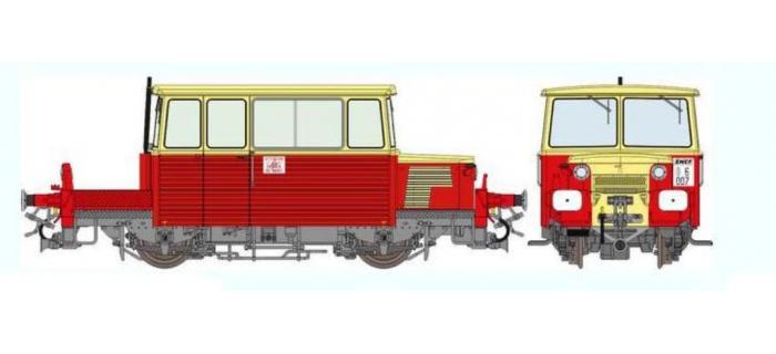 REE MB-034S - DRAISINE DU65 Ep.IV, DCC, sonorisée