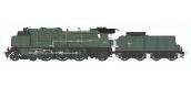 Train électrique : REE Modeles MB-040 S - Locomotive à vapeur 5-231 D 181 - SNCF CLERMONT Ep.III, DCC SON, Fumée pulsée 3 rails