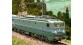 Modélisme ferroviaire : REE MB-055 - Locomotive électrique CC-7128 origine Sud-Est Ep.III dépôt de Lyon-Mouche
