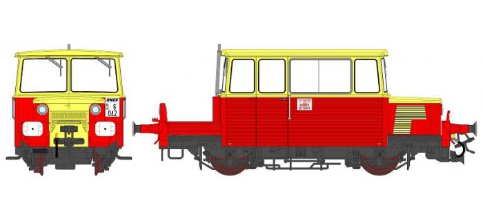 Modélisme ferroviaire :  REE MB-074S - DRAISINE DU65 Ep.IV, sonorisée