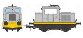 Modélisme ferroviaire :  REE MB-079 - Locotracteur Moyse 32 TDE Ep.IV-V, Analogique