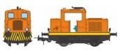Modélisme ferroviaire : REE MB-088S - Locotracteur Moyse 32 TDE Ep.IV-V, DCC Sound, Power Pack