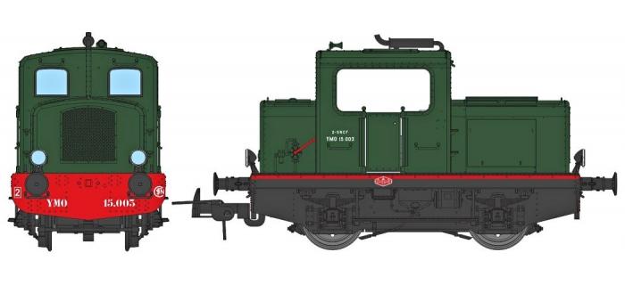 Modélisme ferroviaire : REE MB-089 - Locotracteur Moyse 32 TDE Ep.III, Analogique