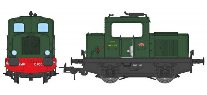 Modélisme ferroviaire : REE MB-090S - Locotracteur Moyse 32 TDE Ep.III, DCC Sound