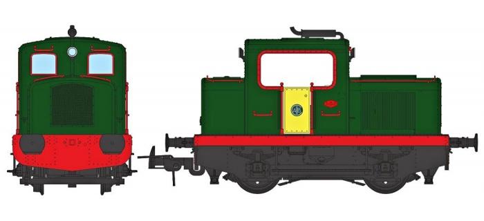 Modélisme ferroviaire : REE MB-091S - Locotracteur Moyse 32 TDE Ep.IV - V, DCC Sound