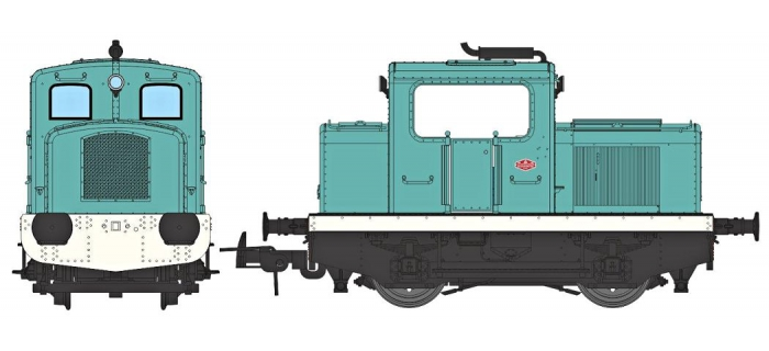 Modélisme ferroviaire :  REE MB-092S - Locotracteur Moyse 32 TDE Ep.IV - V, DCC Sound