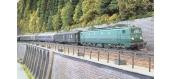 Train électrique : REE MB-107S - Locomotive électrique CC-7124 Ep.IV dépôt de Chambéry DCC SON - Pantographes fonctionnels