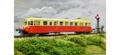 Modélisme ferroviaire : REE-MB-112 S - Autorail VH ex-ETAT X-2332 MONTLUÇON Ep.III, DCC Son