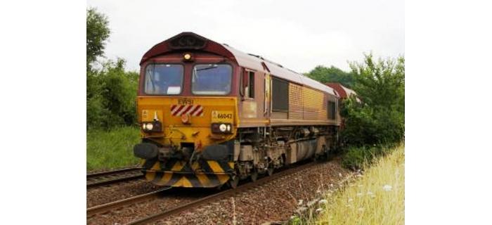 Train électrique : REE MBE-002 - Class 66 Euro Gargo Rail N° 66072 ECR, DCC Sonorisée