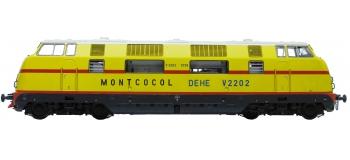 Train électrique : REE MBE-004 - Locomotive diesel V2202 ex-DB 220 075-6 MONTCOCOL DCC SON
