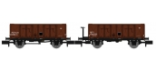 Modélisme ferroviaire : REE NW-049 : Set de 2 wagons Tombereau OCEM 29 Ep.III