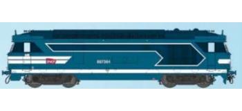 Train électrique : REE OM-006 - Locomotive diesel BB 67364, dépôt de Chambéry - Echelle O