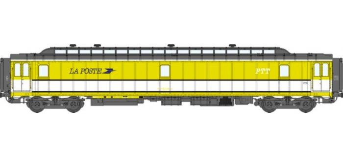 VB 022 Voiture POSTALE OCEM 21,6 m Ambulant Ep.IV REE Modèles