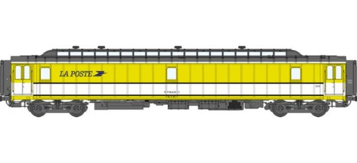 VB 024 Voiture POSTALE OCEM 21,6 m Ambulant Ep.IV-V REE Modèles
