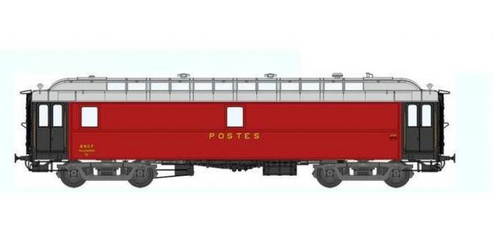 Train électrique : REE VB-045 - Voiture POSTALE OCEM 16 m Ambulant Ep.III A