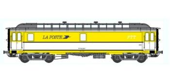 Train électrique : REE VB-047 - Voiture POSTALE OCEM 16 m Ambulant Ep.IV