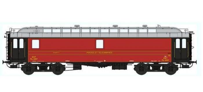 Train électrique : REE VB-049 - Voiture POSTALE OCEM 16 m Ambulant Ep.II - EST