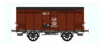 Train électrique : REE WB-295 - Wagon PRIMEUR PLM Type II / Ep.II – PLM