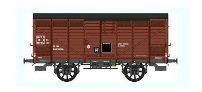 Train électrique : REE WB-298 - Wagon PRIMEUR PLM Type II Ep.III B