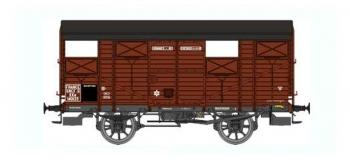 Train électrique : REE WB-302 - Wagon COUVERT 20T PLM Ep.III A