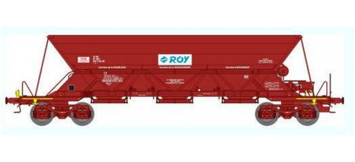 Train électrique : REE-WB305 - Wagon TREMIE EX T1 Ep.IV-V «ROY»