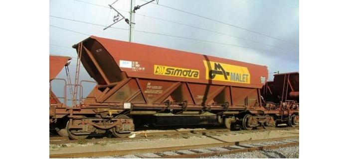 REE WB-308 - Wagon TREMIE EX T3 Ep.V «SIMOTRA MALET»