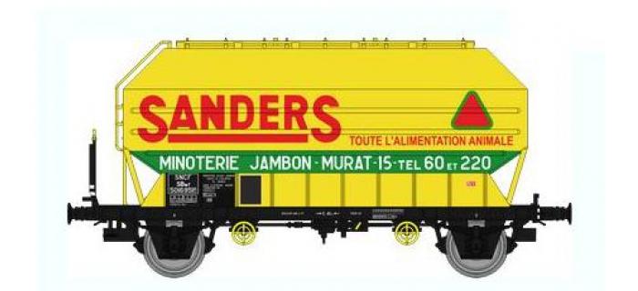 Train électrique : REE WB-321 - Wagon Céréalier FRANGECO B Ep.III «SANDERS»