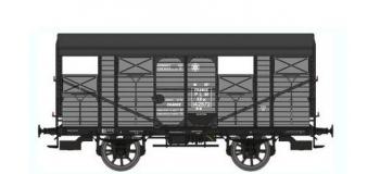 Train électrique :  REE WB-332 - Wagon COUVERT 20T PLM Ep.II - PLM