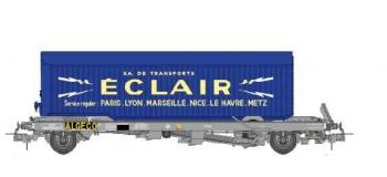 Train électrique : REE WB-338 - Wagon KANGOUROU Ep.III-IV + Remorque