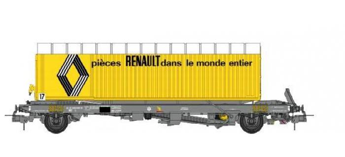 Train électrique : REE WB-339 - Wagon KANGOUROU Ep.IV avec remorque