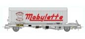 Train électrique :  REE WB-342 - Wagon KANGOUROU Ep.III + Remorque