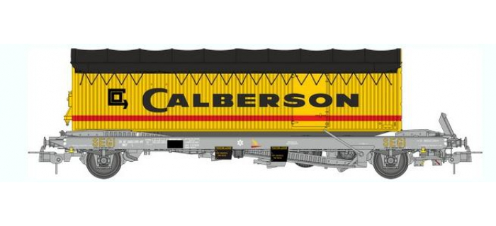 Train électrique : REE WB-346 - Wagon KANGOUROU Ep.IV + Remorque