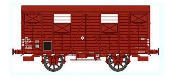 REE WB256 - Wagon COUVERT OCEM 19 Ep.IV