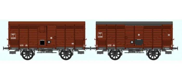 Set de 2 Wagons PRIMEUR PLM Type II – Type III / Ep.III B