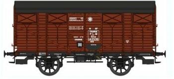 REE WB264 - Wagon COUVERT PLM Ep.II - PLM