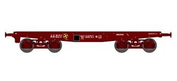Train électrique : REE WBA-006 - WWagon Porte-char Rlmmp 31 87 389 1125-0 SNCF Ep.IV