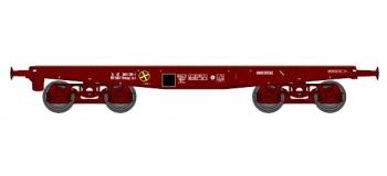 Train électrique : REE WBA-007 - WWagon Porte-char Rlmmp 31 87 389 1 139-1 SNCF Ep.IV