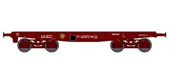 Train électrique : REE WBA-007 - WWagon Porte-char Rlmmp 31 87 389 1 107-8 SNCF Ep.IV
