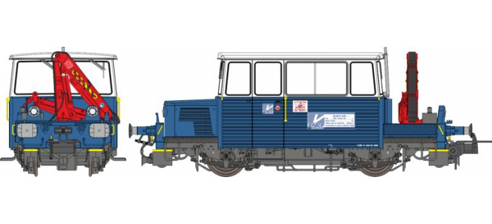 Train électrique : REE MB-110 - DRAISINE DU65 Ep.V, Analogique
