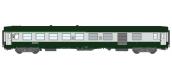 Modélisme ferrovaire : REE VB-160 - Voiture UIC Vert Garrigue / Gris Béton Ep.V.