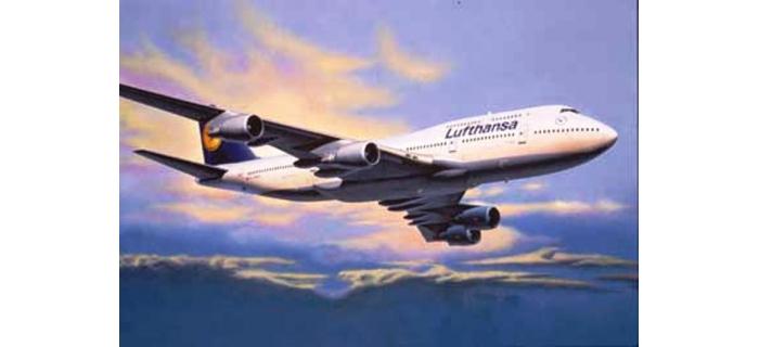 REVE04219 - Avion Boeing 747-400 'Lufthansa' - Revell