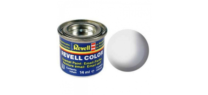 Maquettes : REVELL REVE32105 - Peinture blanc mat