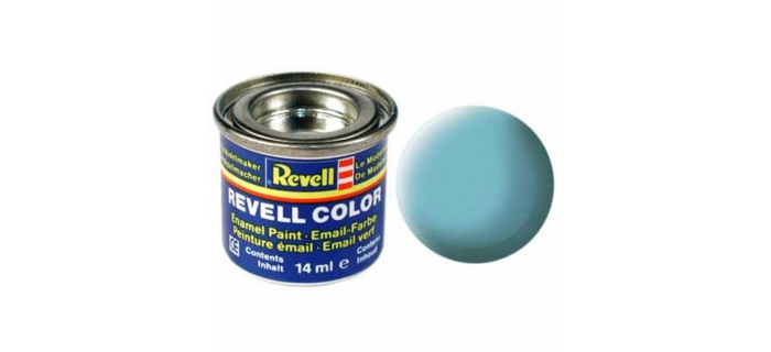 Maquettes : REVELL REVE32155 - Peinture bleu clair mat