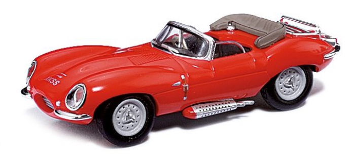 Jaguar XKSS Cabrio, Rot