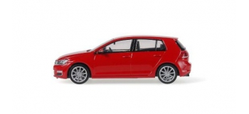 RIE11825 - VW Golf 7, rouge - Rietze