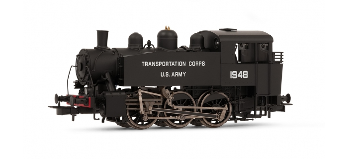 HR2477 - Locomotive vapeur S100 US Army Transportation corp. No. 1948 - Rivarossi